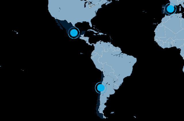 F24 Servicios de Communicaciones Map